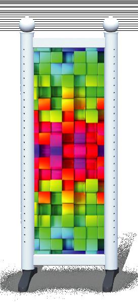 Wing > Combi N > Rainbow Cubes