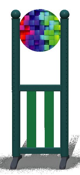 Wing > Combi Round > Rainbow Cubes