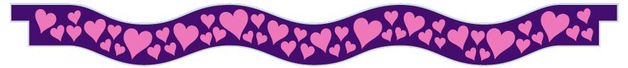 Planks > Wavy Plank > Hearts