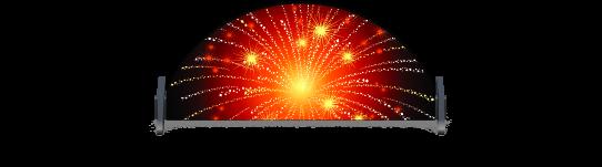 Fillers > Half Round Filler > Fireworks