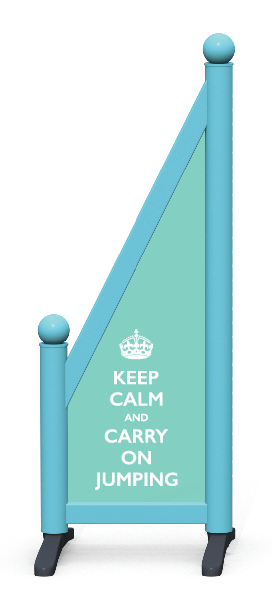 Wing > Sloping Printed > Keep Calm