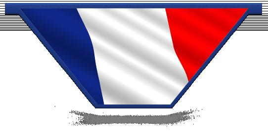 Fillers > V Filler > French Flag