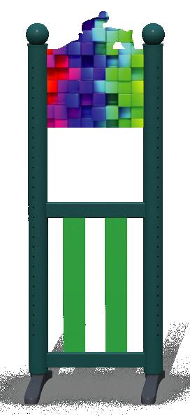 Wing > Combi I > Rainbow Cubes
