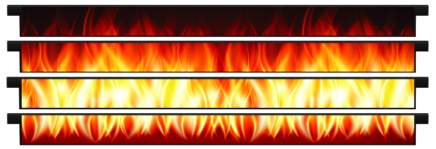 Planks > Straight Plank x 4 > Fire