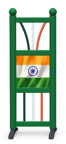 Wing > Combi D > Indian Flag
