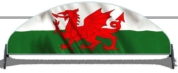 Fillers > Half Moon Filler > Welsh Flag