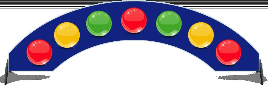 Fillers > Arch Filler > Spheres
