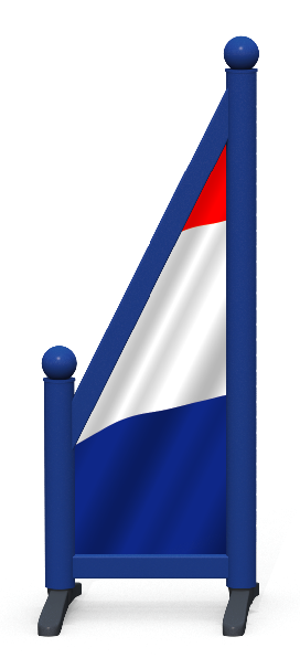 Wing > Sloping Printed > French Flag
