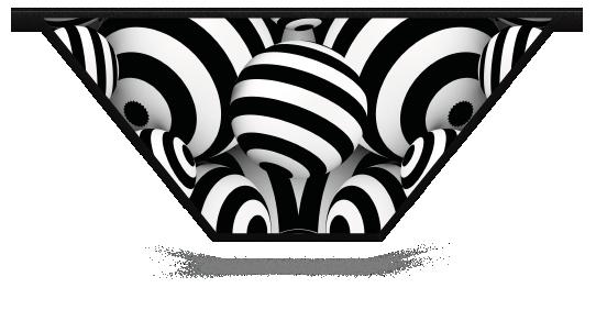 Fillers > V Filler > Striped Circles