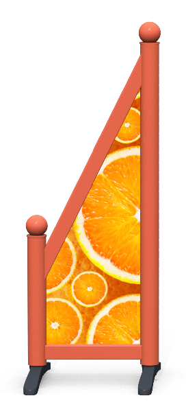 Wing > Sloping Printed > Oranges