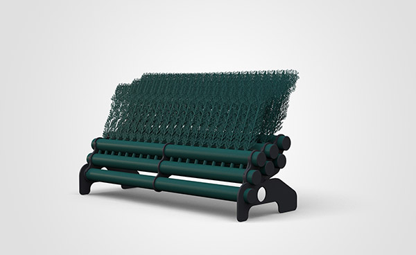 3 Layer Brush 1.8mtr - Dark Green