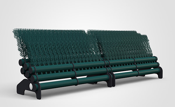 3 Layer Brush 3mtr - Dark Green