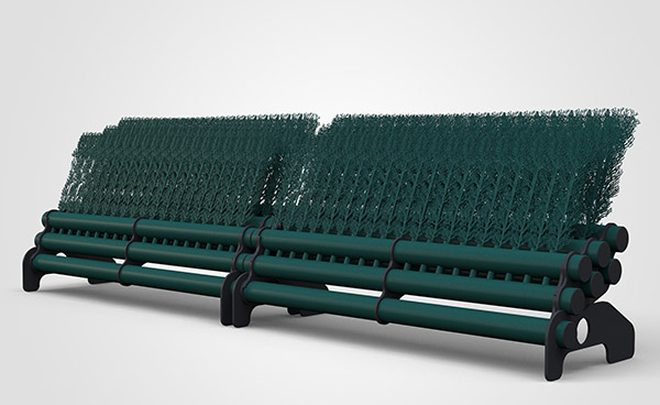 3 Layer Brush 3.5mtr - Dark Green