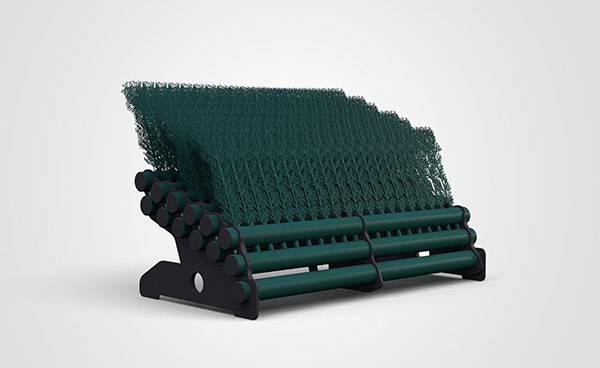 6 Layer Brush 1.8mtr - Dark Green
