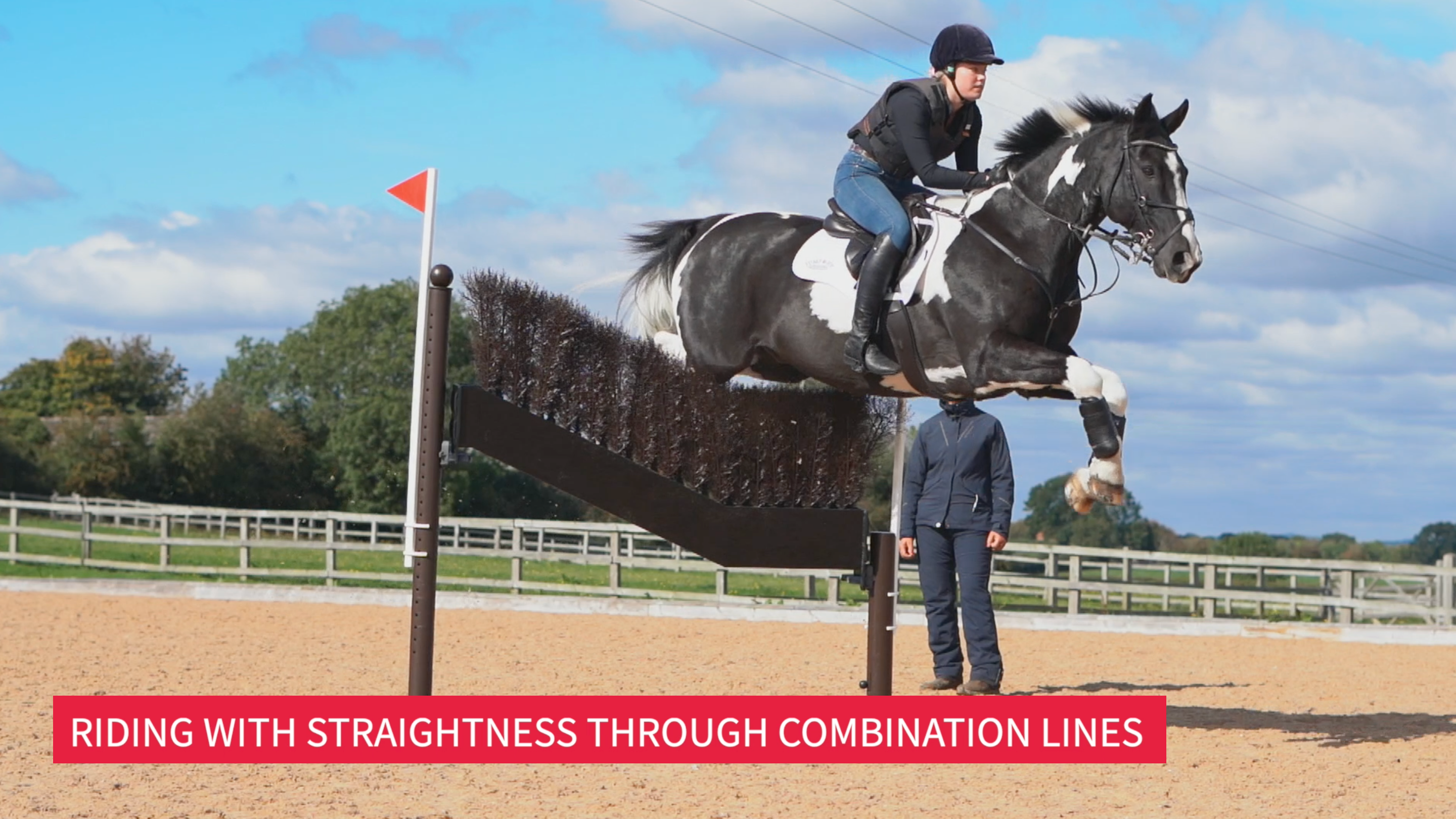 Riding With Straightness Throughout Combination Lines