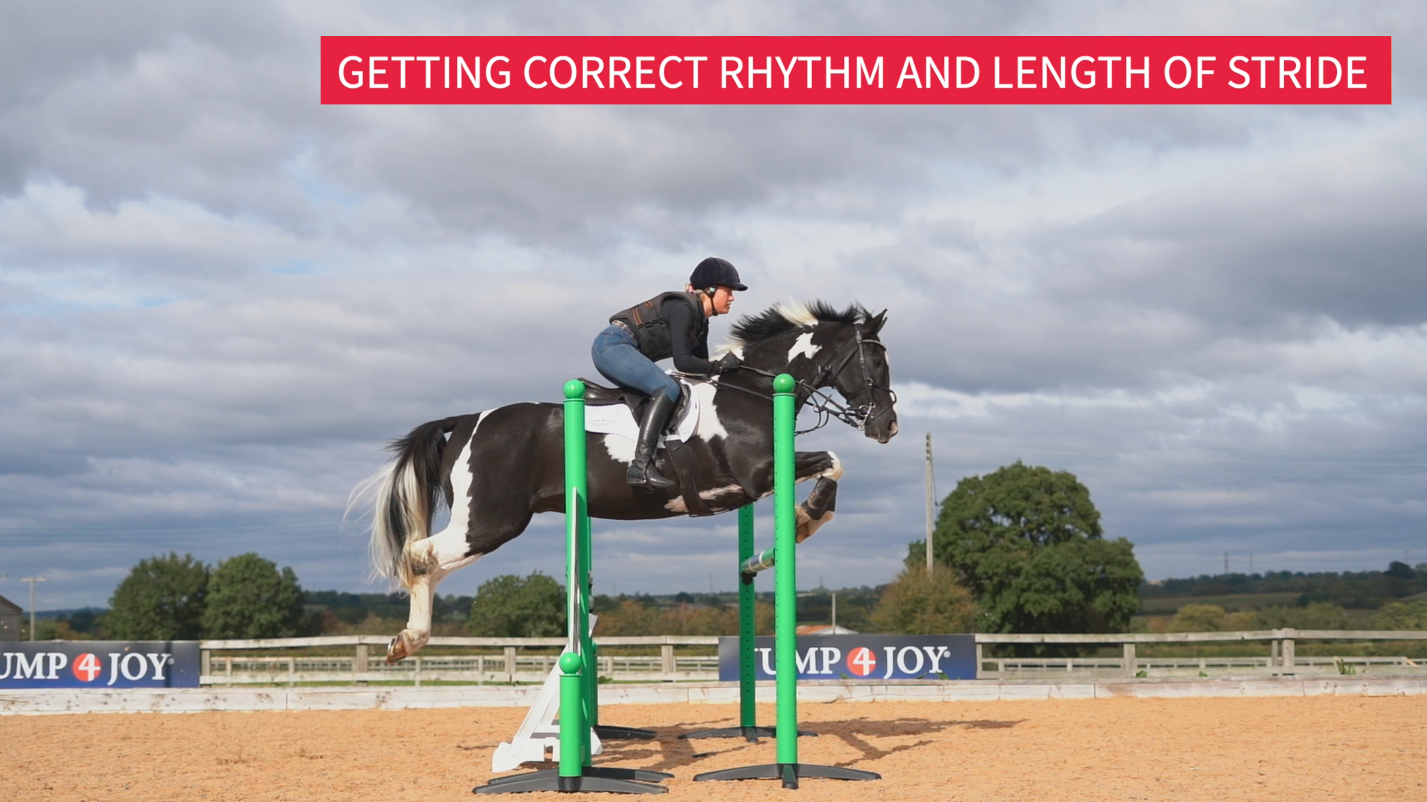 Getting Correct Rhythm and Length of Stride