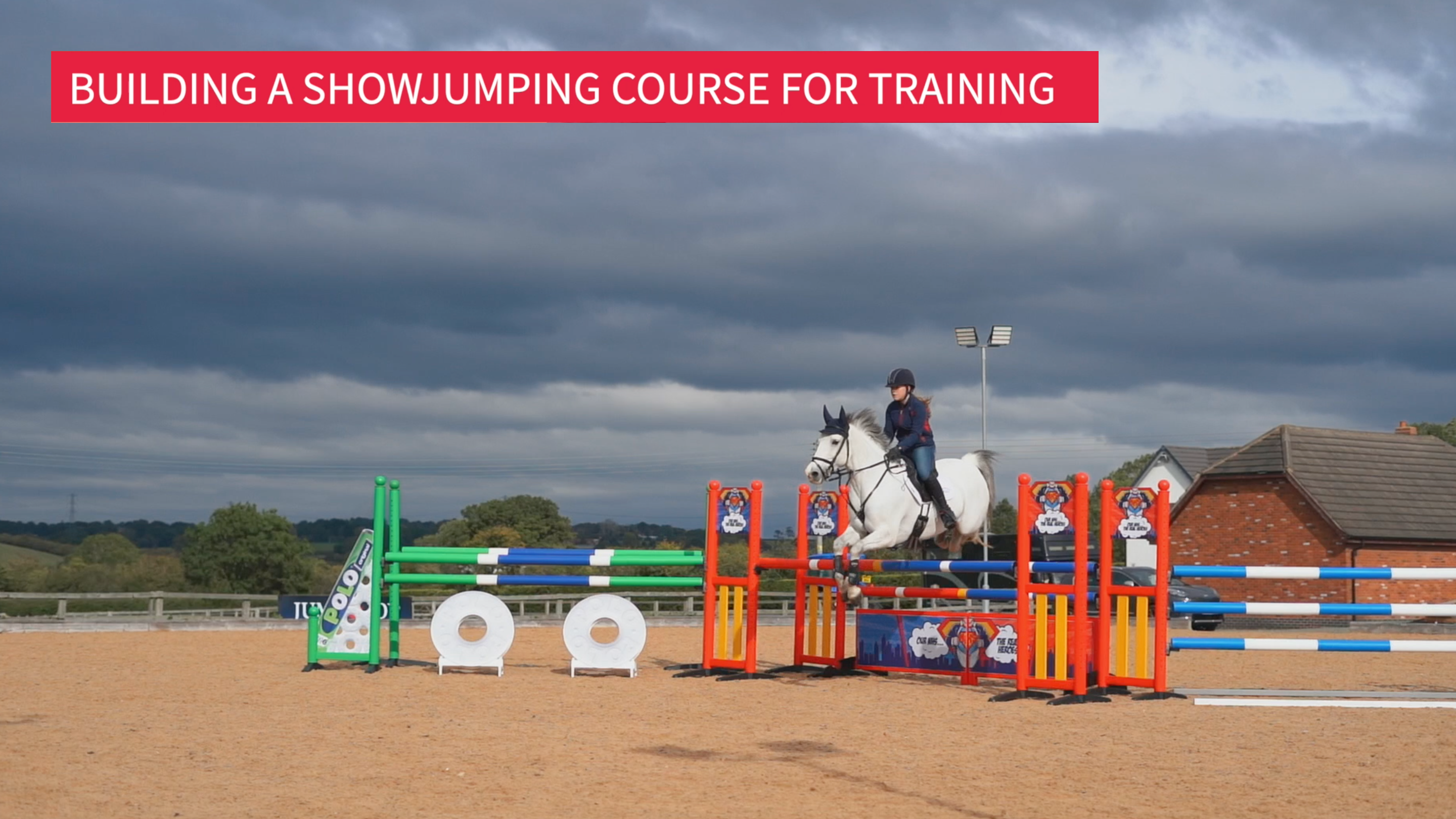 Building a Showjumping Course for Training